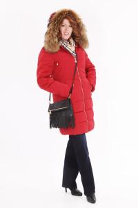 coat and purse